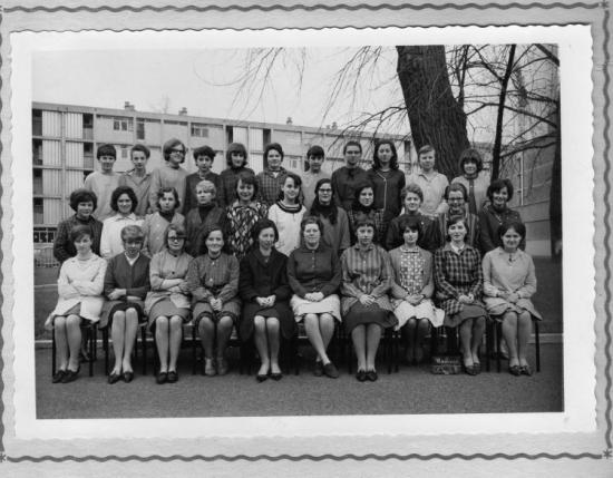 Collège rue de la croix MAUBEUGE,années 60