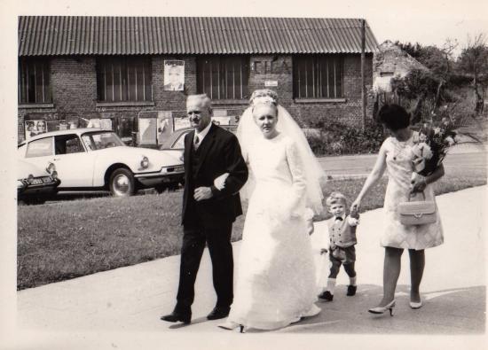 Mon père et moi en 1969