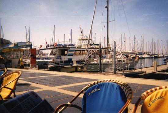 Un port au Cap d'Agde