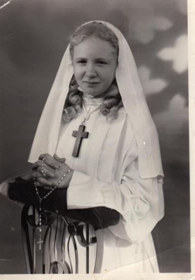 J'ai 12 ans - ma communion