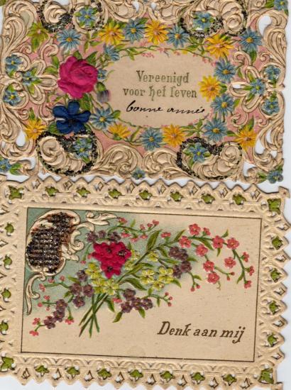 CARTES DE VOEUX 1907
