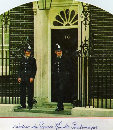 La résidence du 1er ministre britannique
