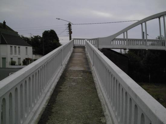 La passerelle de Berlaimont (Nord)