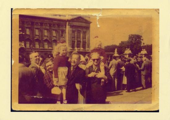 photo de famille en Angleterre-années 50