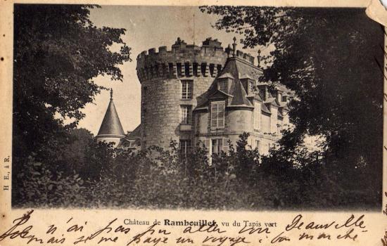 Ch;de RAMBOUILLET 1903