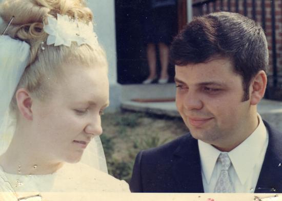 Mon mariage le 2 août 1969 ( Michel et Michelle)