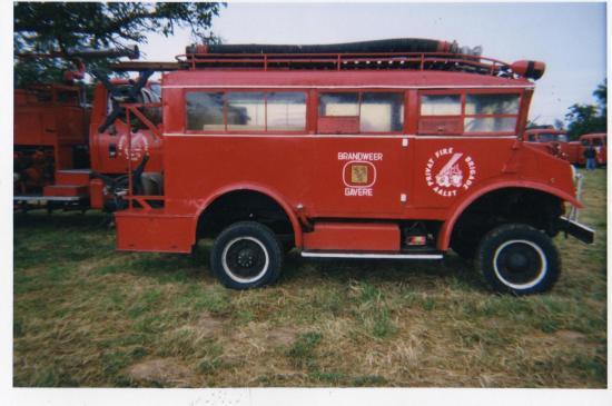une voiture de pompiers