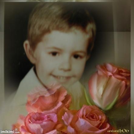 mon fils, quand il avait 5 ans