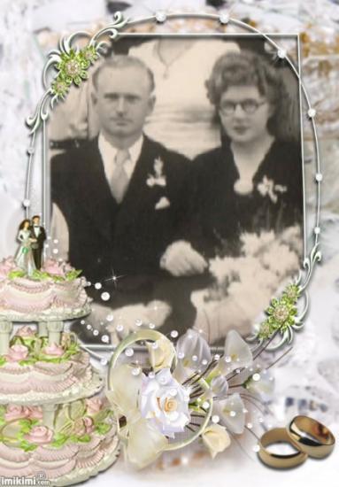 mes parents, en 1945