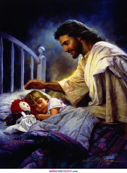 Jesus et enfant lisa