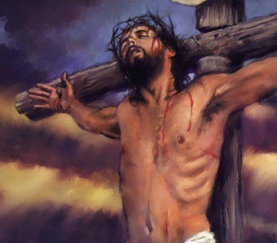 Jesussur la croix 1